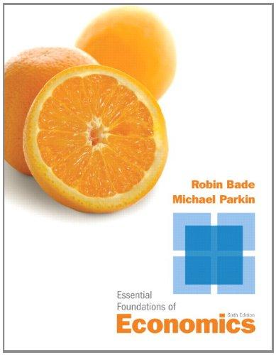 9780132833110: Essential Foundations of Economics (6th Edition)