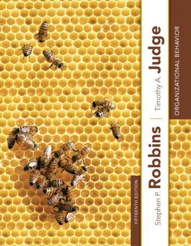 9780132834872: Organizational Behavior (15th Edition)