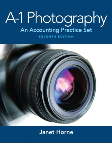 9780132835107: A1 Photography: An Accounting Practice Set