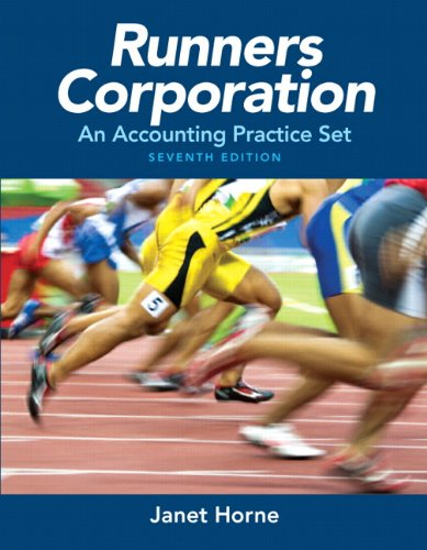 9780132835114: Runners Corporation: An Accounting Practice Set
