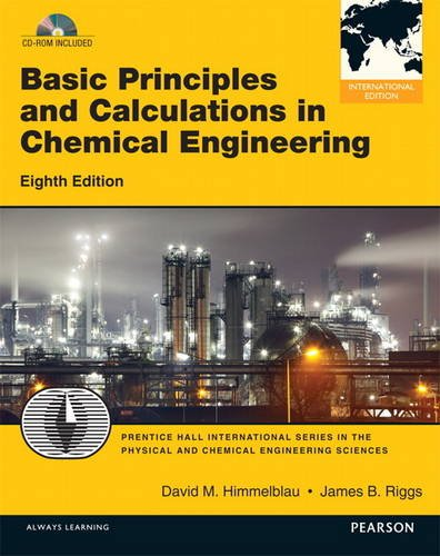 9780132835565: Basic Principles and Calculations in Chemical Engineering