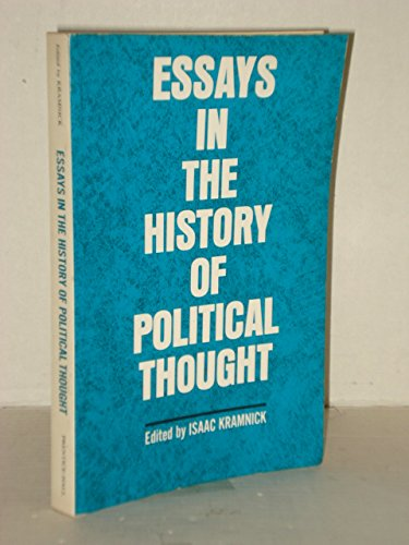 Essays in the History of Political Thought