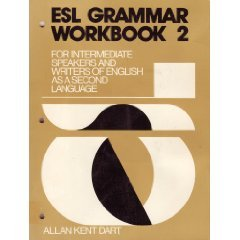 9780132836715: ESL Grammar Workbook 2: For Intermediate Speakers and Writers of English as a Second Language