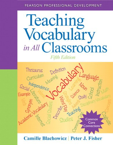 9780132837781: Teaching Vocabulary in All Classrooms (5th Edition) (Pearson Professional Development)