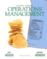9780132839020: Operations Management, Flexible Version, Pearson eText (Access Card), Lecture Guide and Activities Manual (10th Edition)