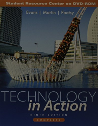 9780132839143: Student CD for Technology In Action Complete