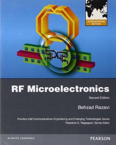 RF MICROELECTRONICS 2ND EDITION: BEHZAD RAZAVI