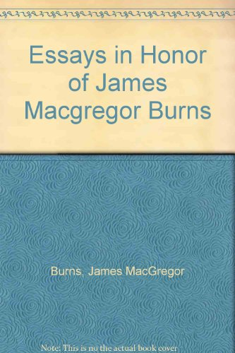 9780132839952: Essays in Honor of James MacGregor Burns