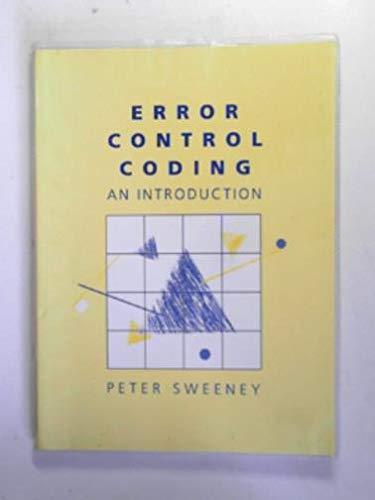 9780132841269: Error Control Coding