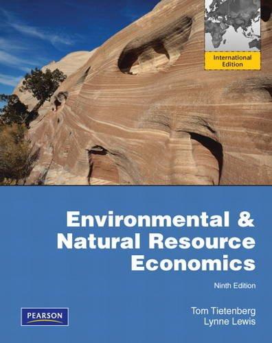 9780132843003: Environmental & Natural Resources Economics