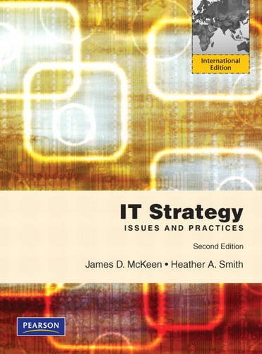 9780132843010: IT Strategy: International Edition