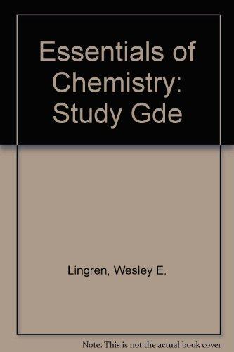 9780132843409: Essentials of Chemistry: Study Gde