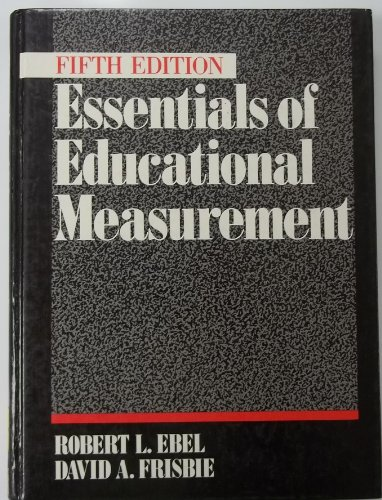 9780132846134: Essentials of Educational Measurement