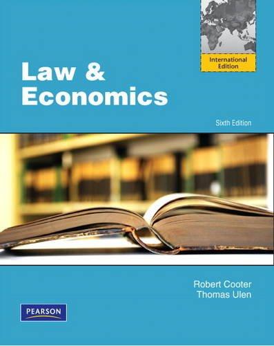9780132846158: Law and Economics (International Edition)