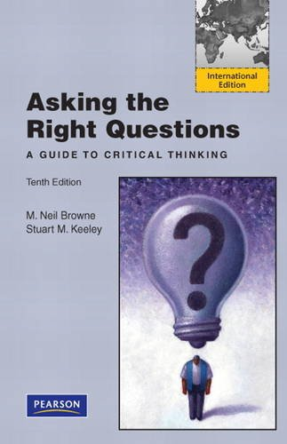 9780132846165: Asking the Right Questions: A Guide to Critical Thinking