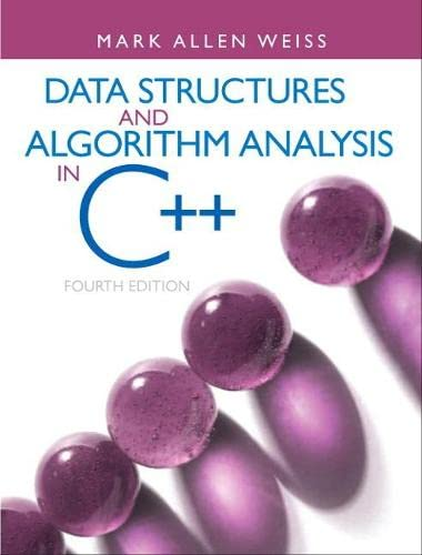 9780132847377: Data Structures & Algorithm Analysis in C++