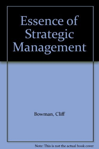 the essence of strategic management Understanding of the management management is the organizational process that includes strategic planning, setting objectives, managing resources, deploying the human and financial assets needed to achieve objectives, and measuring results.