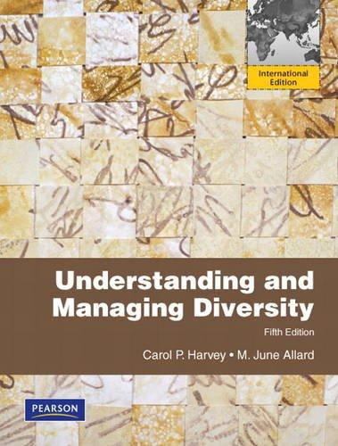 9780132847704: Understanding and Managing Diversity (Intgernational Edition)