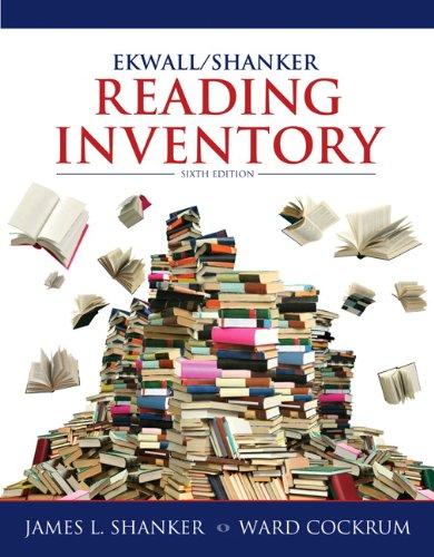 9780132849968: Ekwall/Shanker Reading Inventory