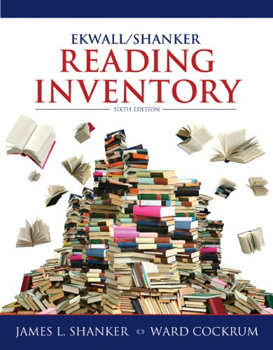 9780132849968: Ekwall/Shanker Reading Inventory (6th Edition)