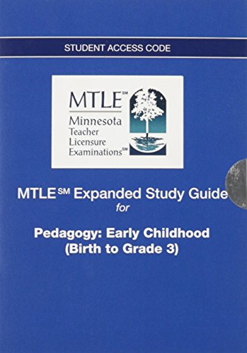 9780132850155: MTLE Expanded Study Guide -- Access Card -- for Pedagogy: Early Childhood (Birth to Grade 3)