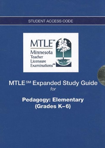 9780132850186: MTLE Expanded Study Guide -- Access Card -- for Pedagogy: Elementary (Grades K-6)