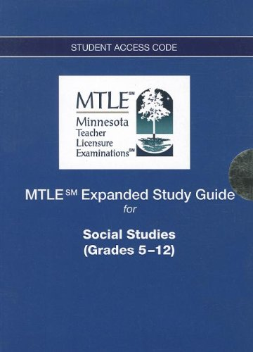 9780132850209: MTLE Expanded Study Guide -- Access Card -- for Social Studies (Grades 5-12)