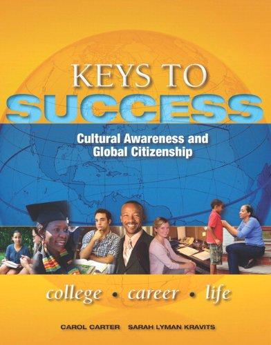 Keys to Success: Cultural Awareness and Global: Carol Carter, Joyce