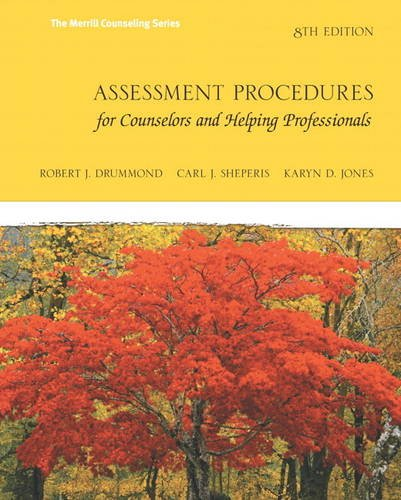 9780132850636: Assessment Procedures for Counselors and Helping Professionals (8th Edition) (Merrill Counselling)