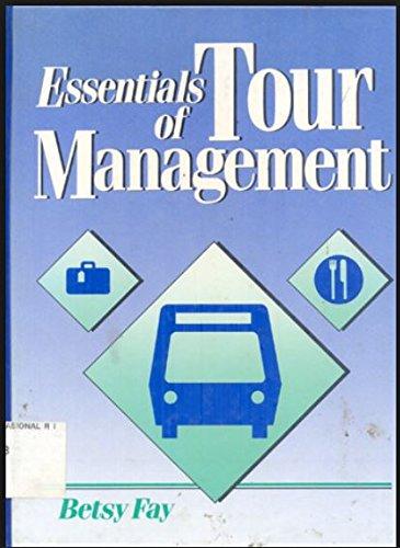 9780132850650: Essentials of Tour Management