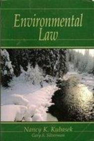 9780132851077: Environmental Law