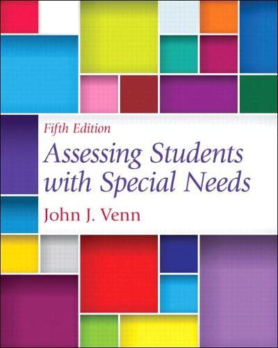 9780132852364: Assessing Students with Special Needs