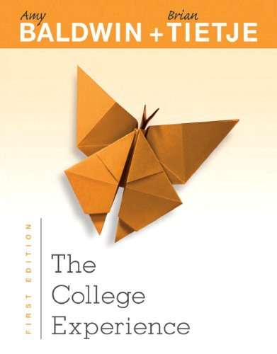 9780132852524: The College Experience
