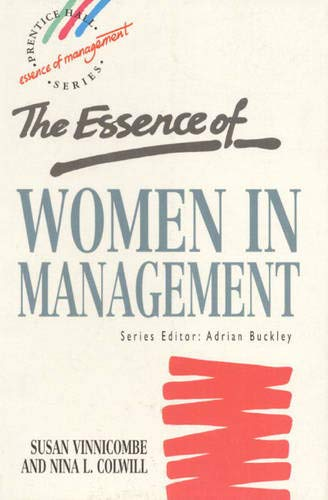 9780132853705: Essence of Women in Management, The