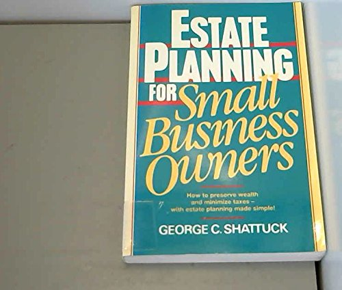 9780132854610: Estate Planning for Small Business Owners