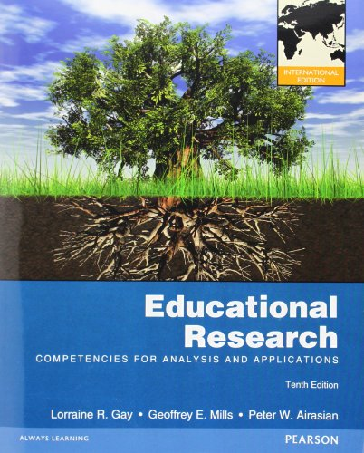 9780132854634: Educational Research: Competencies for Analysis and Applications