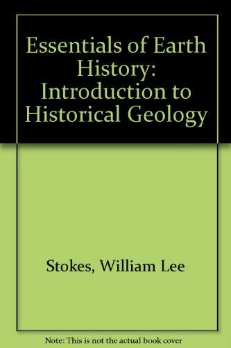 9780132858908: Essentials of Earth History: An Introduction to Historical Geology
