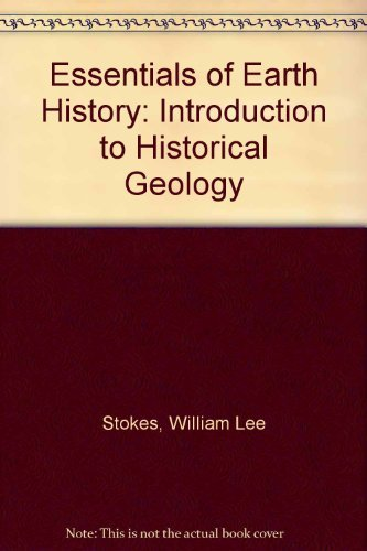9780132859325: Essentials of Earth History: Introduction to Historical Geology