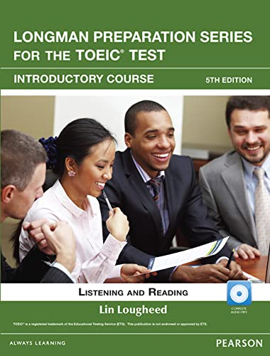 9780132861519: Longman Preparation Series for the TOEIC Test: Listening and Reading Introduction + CD-ROM w/Audio w/o Answer Key