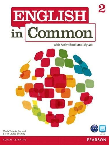 9780132861557: MyEnglishLab: English in Common 2 (Student Access Code Card)