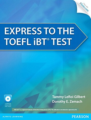 9780132861625: Express to the TOEFL IBT Test with CD-ROM