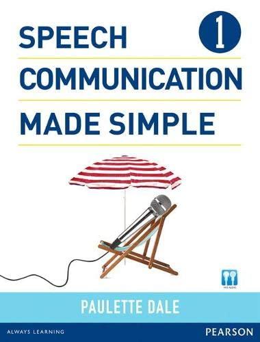 9780132861687: Speech Communication Made Simple 1