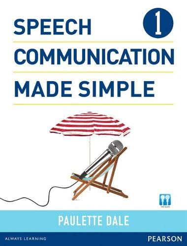 Speech Communication Made Simple 1 (with Audio
