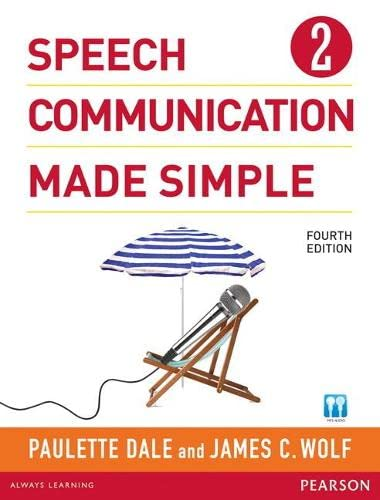 9780132861694: Speech Communication Made Simple 2 (with Audio CD) (4th Edition) Paperback