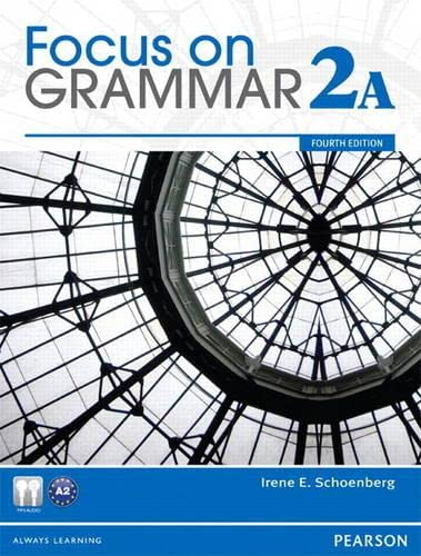 9780132861816: Focus on Grammar 2a Student Book & Focus on Grammar 2a Workbook Pack