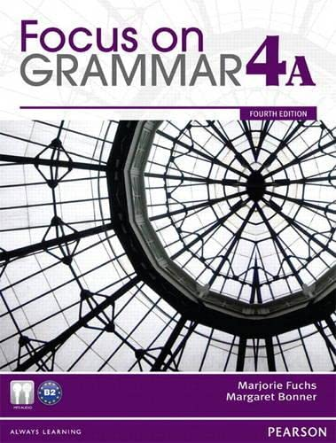 9780132862370: Focus on Grammar 4A Student Book and Workbook 4A Pack (4th Edition)