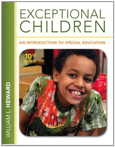 9780132862561: Exceptional Children: An Introduction to Special Education Plus MyEducationLab with Pearson eText -- Access Card Package (10th Edition)