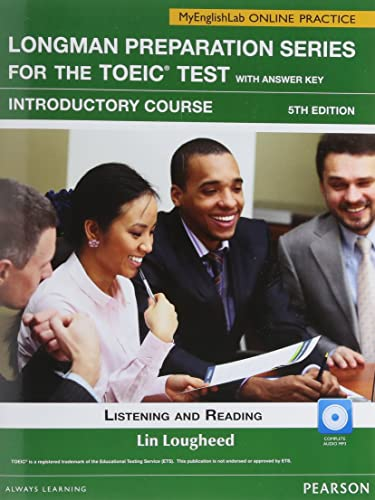 9780132862714: Longman Prep Series for the TOEIC Test: Listening and Reading Intro SB w/CD-ROM/AK & MEL