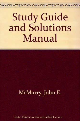9780132862790: Essentials of General, Organic, and Biological Chemistry Study Guide & Solutions Manual