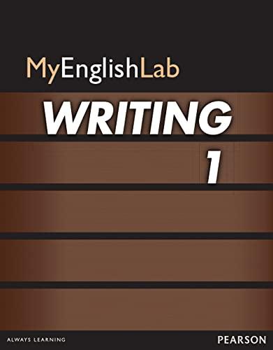9780132863643: MyEnglishLab Writing 1 (Student Access Code)
